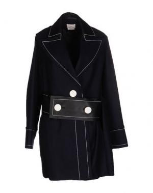 Пальто EDUN. Цвет: темно-синий