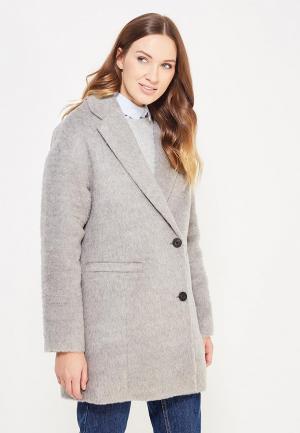 Пальто Tommy Hilfiger Denim. Цвет: серый