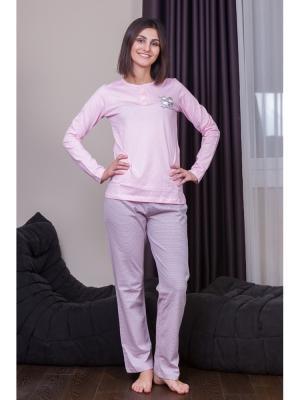 Пижама Oztas underwear. Цвет: сиреневый, розовый