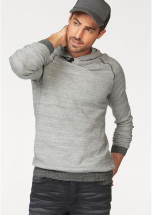 Пуловер JOHN DEVIN. Цвет: экрю меланжевый