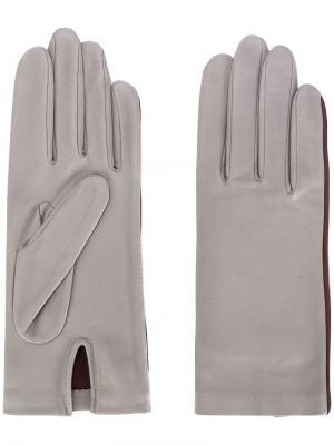 Перчатки New Kate Agnelle. Цвет: серый