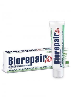 Зубная паста BIOREPAIR для комплексной защиты полости рта, Total Protection Plus.. Цвет: белый