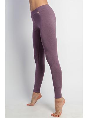 Штаны женские Бали yogadress. Цвет: сиреневый