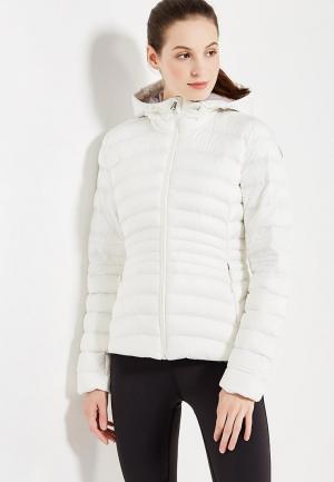 Куртка утепленная Reebok. Цвет: белый