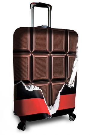 Чехол на чемодан SOVA COVER. Цвет: коричневый