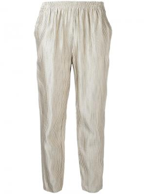 Striped trousers Forte. Цвет: телесный