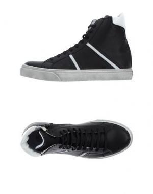 Высокие кеды и кроссовки CHANGE. Цвет: черный