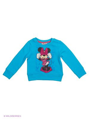 Свитшот Minnie Mouse. Цвет: синий