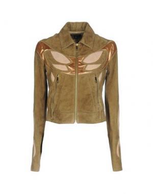 Куртка JITROIS. Цвет: хаки