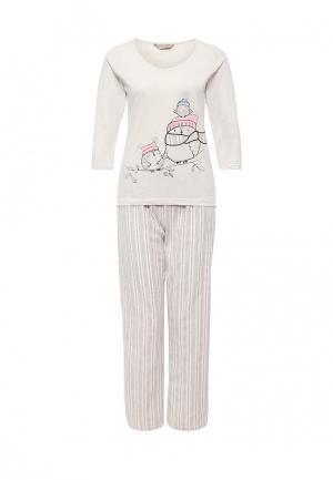 Пижама Dorothy Perkins. Цвет: бежевый