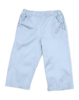 Повседневные брюки AMELIA. Цвет: небесно-голубой