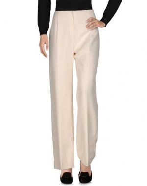 Повседневные брюки FONTANA COUTURE. Цвет: слоновая кость