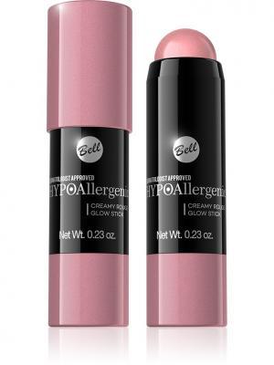 Bell Hypoallergenic румяна в виде карандаша Creamy Rouge Glow Stick Тон 01. Цвет: розовый