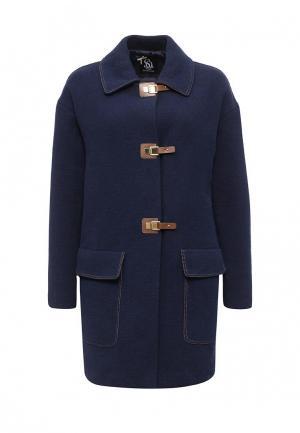 Пальто Sinequanone. Цвет: синий