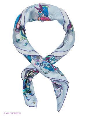 Платок Eleganzza. Цвет: голубой, сиреневый