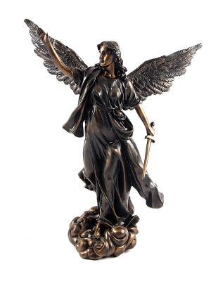 Статуэтка Греческая богиня победы - Ника Русские подарки. Цвет: бронзовый