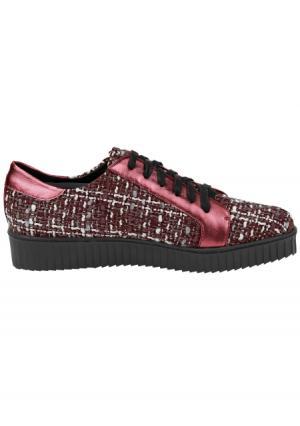 Ботинки Heine. Цвет: бордовый/розовый, черный/серый