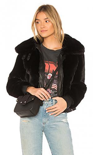 Куртка бомбер black noise BLANKNYC. Цвет: черный