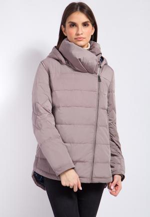 Куртка утепленная Finn Flare. Цвет: розовый