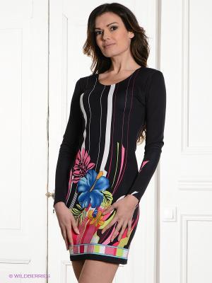 Платье MELANY. Цвет: темно-синий