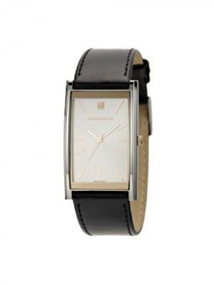 Часы DL2158CM Romanson. Цвет: черный, серебристый