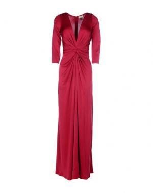 Длинное платье ISSA. Цвет: пурпурный