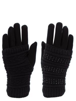 Перчатки HOBBY LINE. Цвет: черный