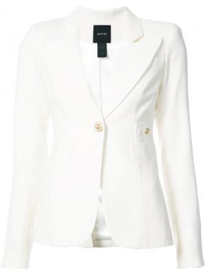 Пиджак Duchess Smythe. Цвет: белый