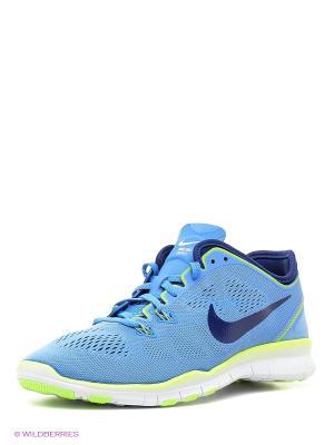 Кроссовки WMNS FREE 5.0 TR FIT 5 Nike. Цвет: синий, голубой
