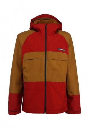 Куртка горнолыжная Bonfire. Цвет: разноцветный