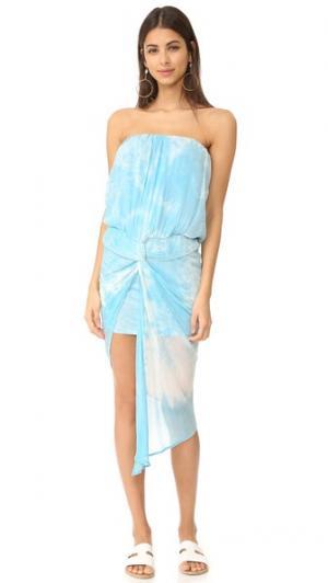 Платье Kauai Young Fabulous & Broke. Цвет: кайма цвета индиго