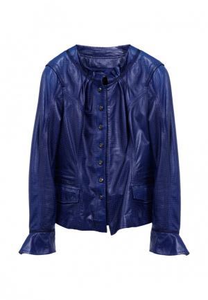 Куртка Carnelli. Цвет: синий