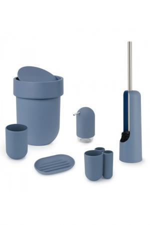 Стакан для зубных щеток TOUCH UMBRA. Цвет: синий