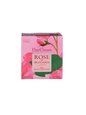 Крем для лица дневной Rose of Bulgaria Biofresh. Цвет: бледно-розовый