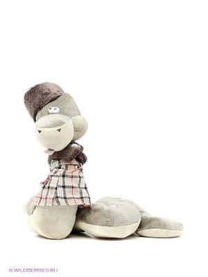 Мягкая игрушка Змея Жаклин ORANGE. Цвет: зеленый, серо-зеленый