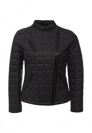 Куртка утепленная Bebe. Цвет: черный
