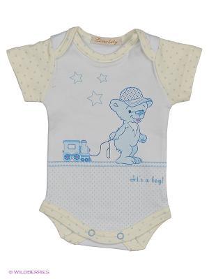Боди Linas Baby. Цвет: голубой