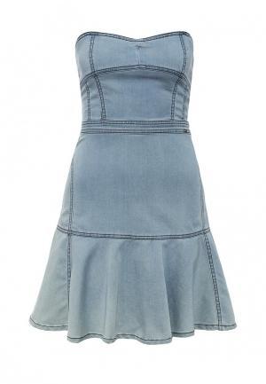 Платье Phard. Цвет: голубой