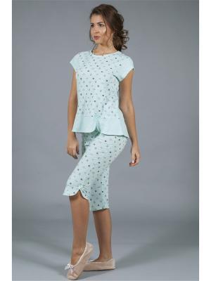 Пижама ОДДИС®. Цвет: светло-зеленый