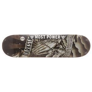 Дека для скейтборда  S6 Hyb Salvation Black/White 31.8 x 8.125 (20.6 см) Darkstar. Цвет: мультиколор