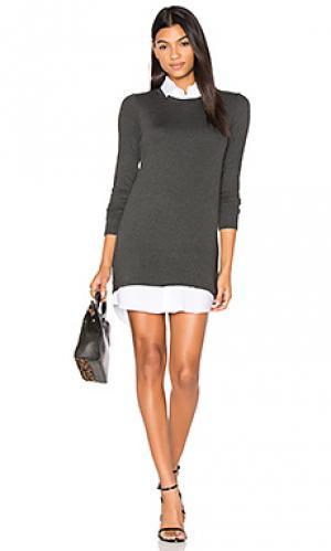 Платье свитер cher Bailey 44. Цвет: уголь