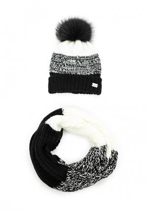 Комплект шапка и шарф Avanta. Цвет: разноцветный