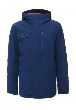 Куртка горнолыжная Quiksilver. Цвет: синий