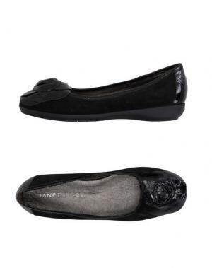 Балетки JANET SPORT. Цвет: черный