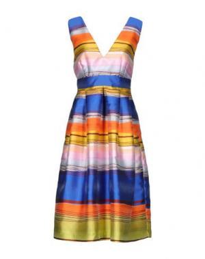 Платье длиной 3/4 KI6? WHO ARE YOU?. Цвет: розовый