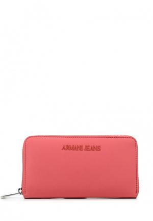 Кошелек Armani Jeans. Цвет: розовый