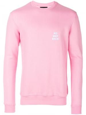 No Way Back sweatshirt Howlin Howlin'. Цвет: розовый и фиолетовый