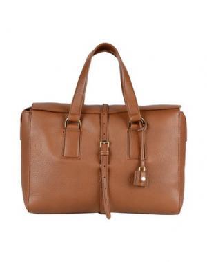 Деловые сумки MULBERRY. Цвет: коричневый