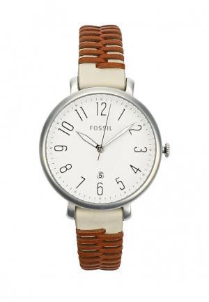 Часы Fossil. Цвет: белый