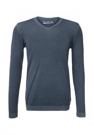 Пуловер Frank NY. Цвет: синий